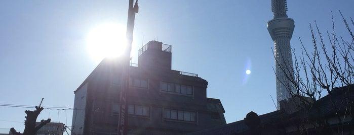 弘福寺 is one of 隅田川七福神.