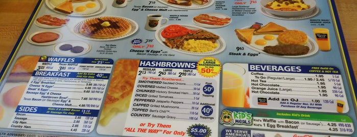 Waffle House is one of Shop Locally - Marysville, Oh.