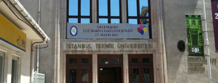 Makina Fakültesi is one of Fakülteler ve Yüksekokullar.
