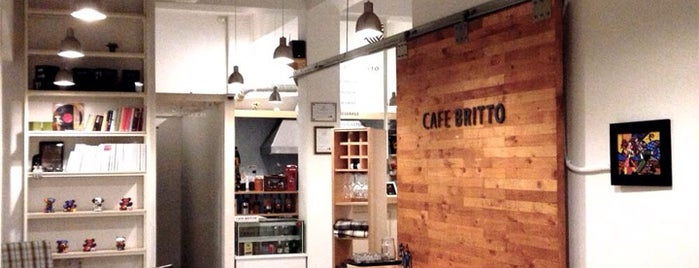 CAFE BRITTO is one of Cafes in Seoul.