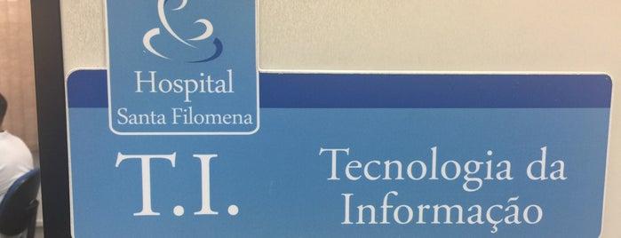 Hospital Santa Filomena is one of Rio claro.
