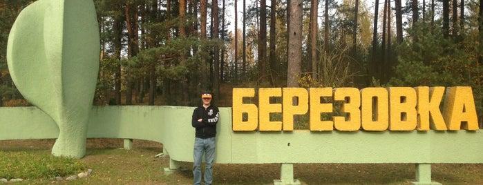 Березовка is one of Города Беларуси.