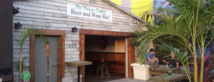 The Thirsty Topher is one of The 15 Best Places for a Craft Beer in Orlando.