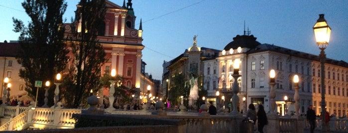 Ljubljana is one of World Capitals.