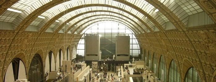 Musée d'Orsay is one of Musées Visités.