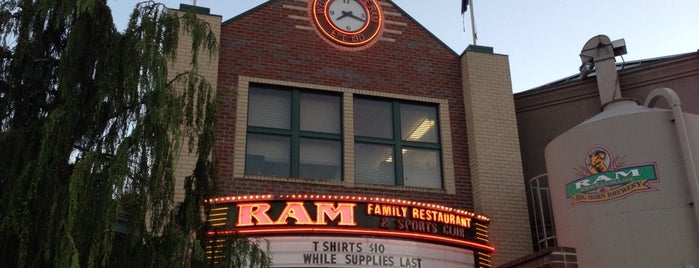 RAM Restaurant & Brewery is one of My fav places..