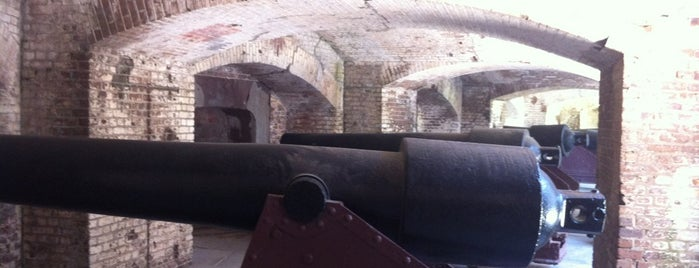 Fort Sumter National Monument Visitor Center is one of Charleston, SC.