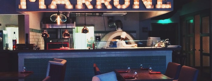 Marrone is one of Best places Moscow.