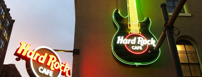 Hard Rock Cafe Indianapolis is one of Best place to eat.