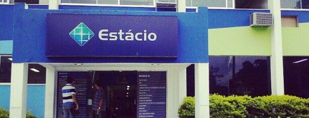 Universidade Estácio de Sá is one of Estive em:.
