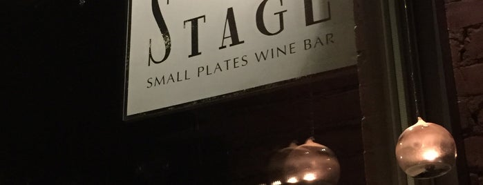 Stage Wine Bar is one of Victoria.