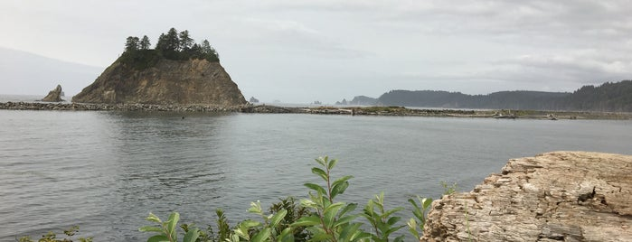 La Push is one of Olympic National Park 💚.