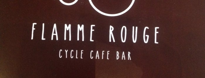Flamme Rouge is one of coffee off-center.