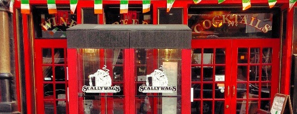 Scallywag's Bar & Grill is one of NYC spots.