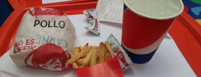 Wendy's is one of Dónde puedes encontrarnos..