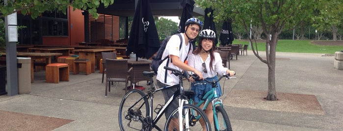 Bike Hire @ Sydney Olympic Park is one of Great Family Holiday Attractions Around Australia.