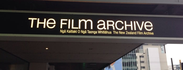Ngā Taonga Sound & Vision is one of The coolest little capital in the world.