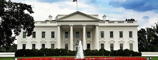 The White House is one of Roadside Discoveries.