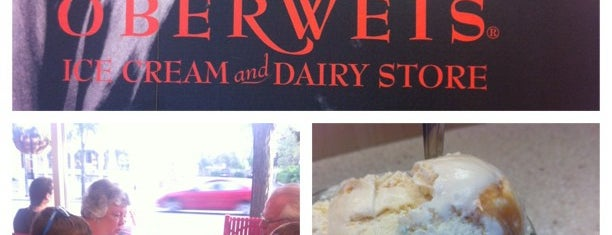 Oberweis Ice Cream & Dairy is one of Favorite Kid Places in Chicago.