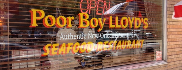 Poor Boy Lloyd's is one of Baton Rouge Places to Eat.
