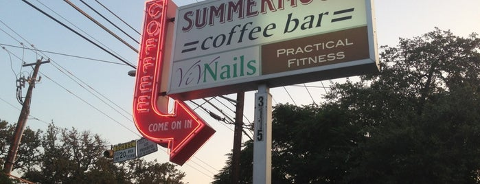 Summermoon Coffee Bar is one of The 15 Best Coffee Shops in Austin.