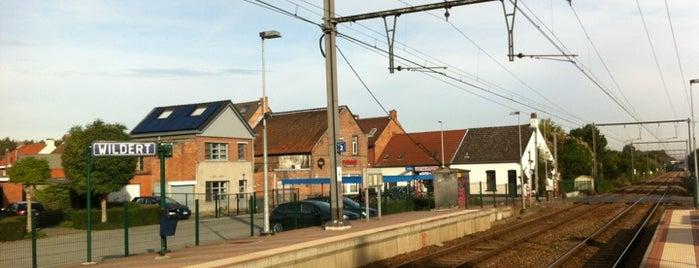 Station Wildert is one of Bijna alle treinstations in Vlaanderen.