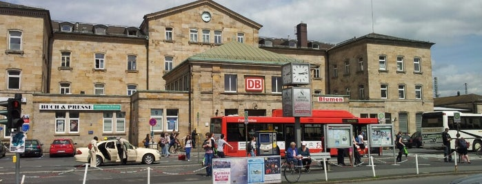Bahnhof Bamberg is one of Official DB Bahnhöfe.
