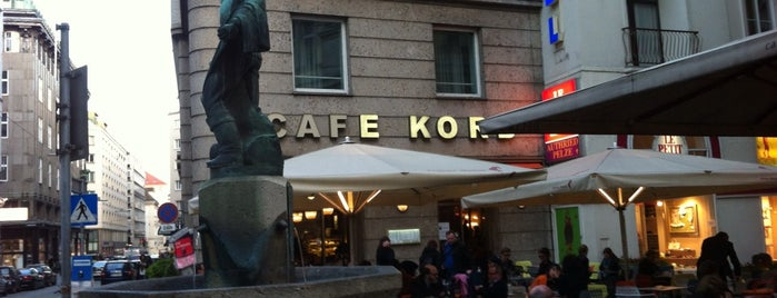 Cafe Korb is one of Vienna Calling.