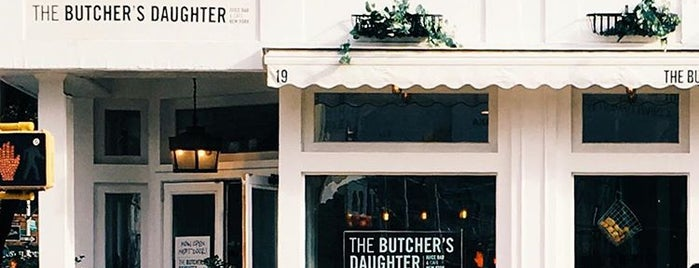 The Butcher's Daughter is one of NY to do.