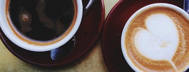 Stumptown Coffee Roasters is one of 25 Top Coffee Shops in NYC.