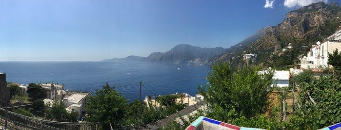 Trattoria S. Gennaro is one of Amalfi Coast, Italy.