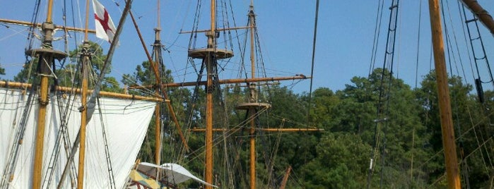 Jamestown Settlement is one of National Museums.