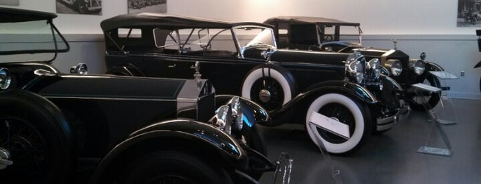 The Frick Art And Historical Center is one of Pennsylvania's Automotive History.