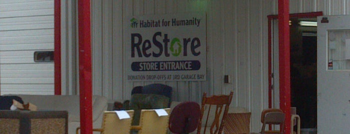 Habitat for Humanity ReStore is one of State of Ilinois sites.