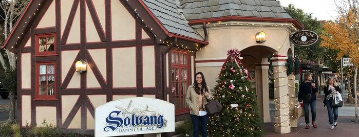 Solvang, CA is one of breweries.
