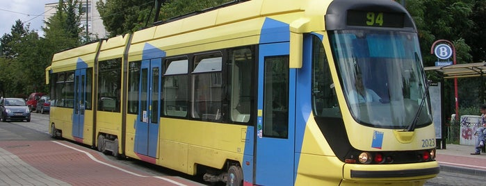 Boondaal Station / Boondael Gare (MIVB / STIB) is one of Belgium / Brussels / Tram / Line 25.