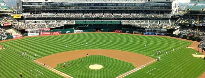 Oakland-Alameda County Coliseum is one of Sporting Venues To Visit.....