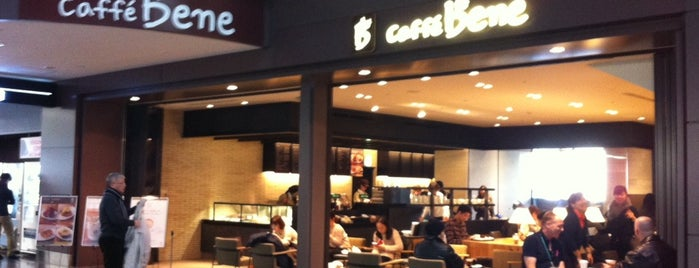 caffe bene is one of VENUES of the FIRST store.