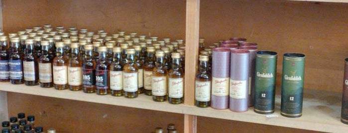 The Whisky Shop Dufftown is one of GreaterSpeyside.