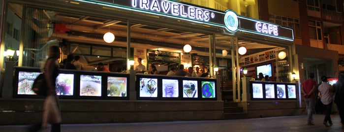 Travelers' Cafe is one of sevdiğim mekanlar.