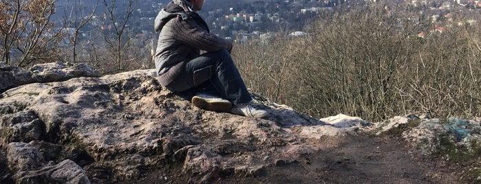 Balogh Ádám-szikla is one of Budai hegység/Pilis.