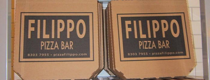 Filippo Wood Oven & Pizza Bar is one of Restaurantes.