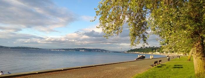 Alki Beach Park is one of Northwest Washington.