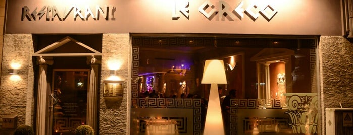 Le Greco is one of restaurant.