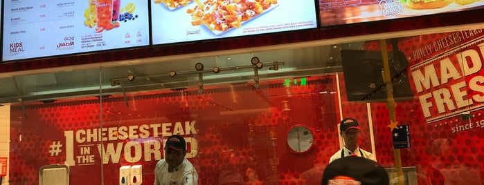 Charleys Philly Steaks is one of Dubai Food.