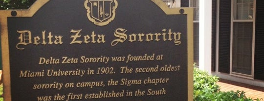 Delta Zeta (ΔΖ) - LSU is one of To Do in....