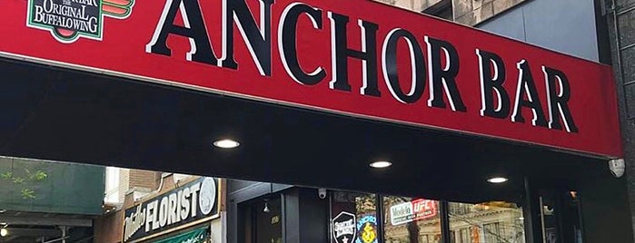 Anchor Bar is one of Manhattan To-Do's (Above 34th Street).