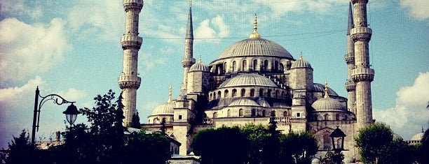 Sultan Ahmet Camii is one of Istanbul 2014.