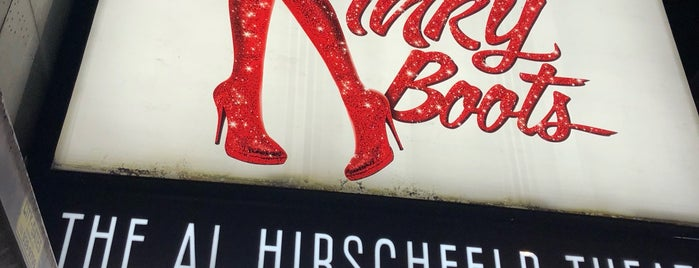 Al Hirschfeld Theater is one of The 15 Best Places for Boots in New York City.