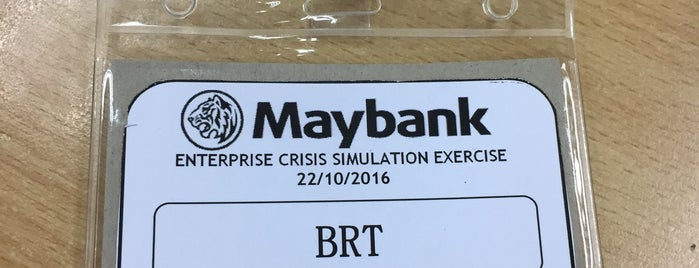 Maybank is one of New People.